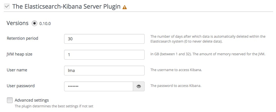 Configure the plugin during an environment deployment — The